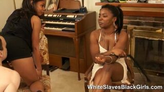 Black Femdoms dominating white guys