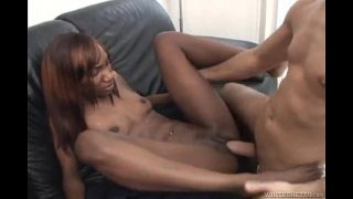 Cameron Leigh Gets Her Black Pussy Fucked
