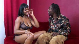 horny ebony michelle having hardcore fuck with huge black monster cock
