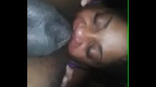 Mature Ebony BBW Amazing Rimjob and Head