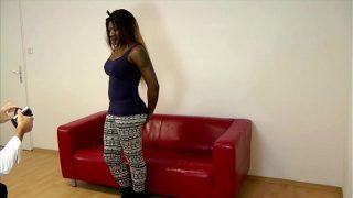 Xvideos tv Casting a German Ebony